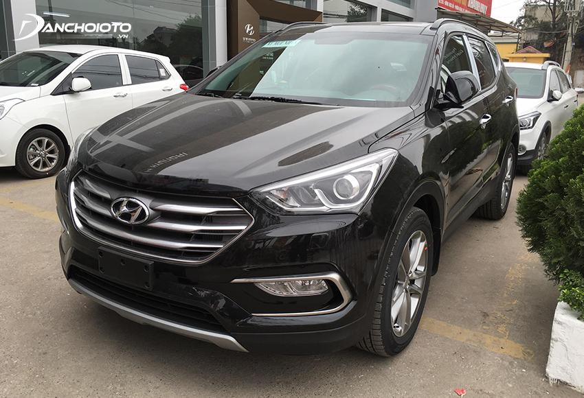 Xe Hyundai SantaFe 2017 cũ