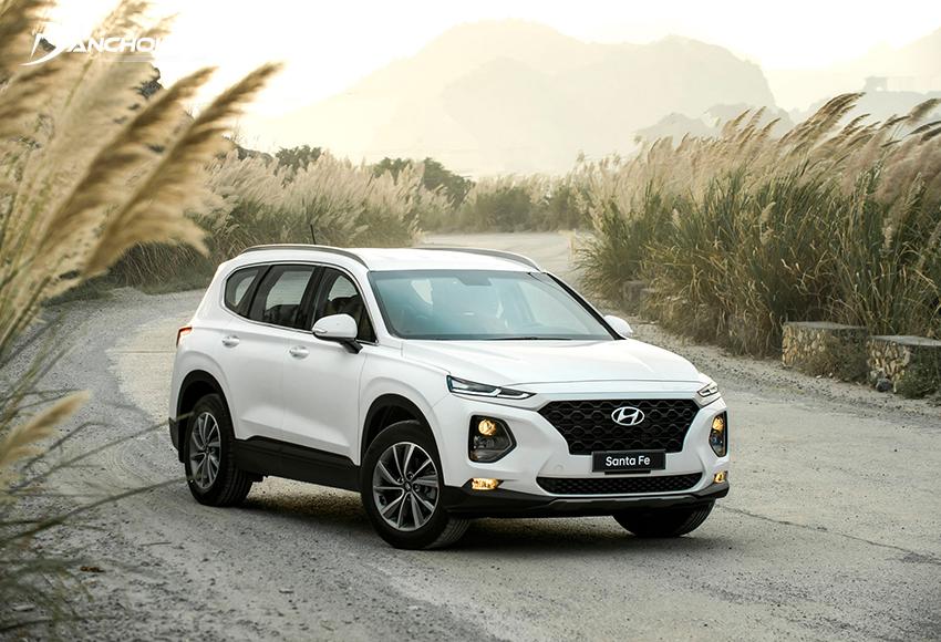 Xe Hyundai SantaFe 2019 cũ