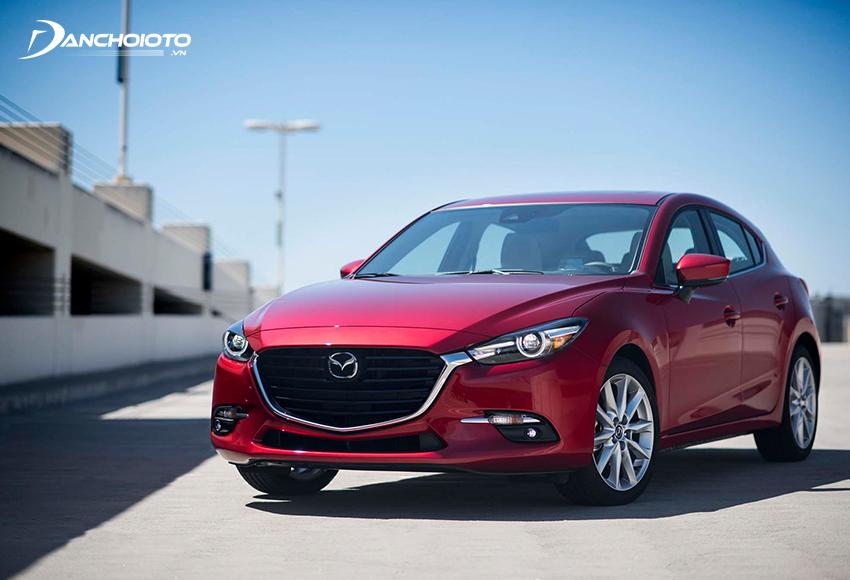 Xe Mazda 3 2017 cũ