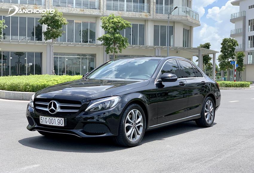 Xe Mercedes C200 2017 cũ