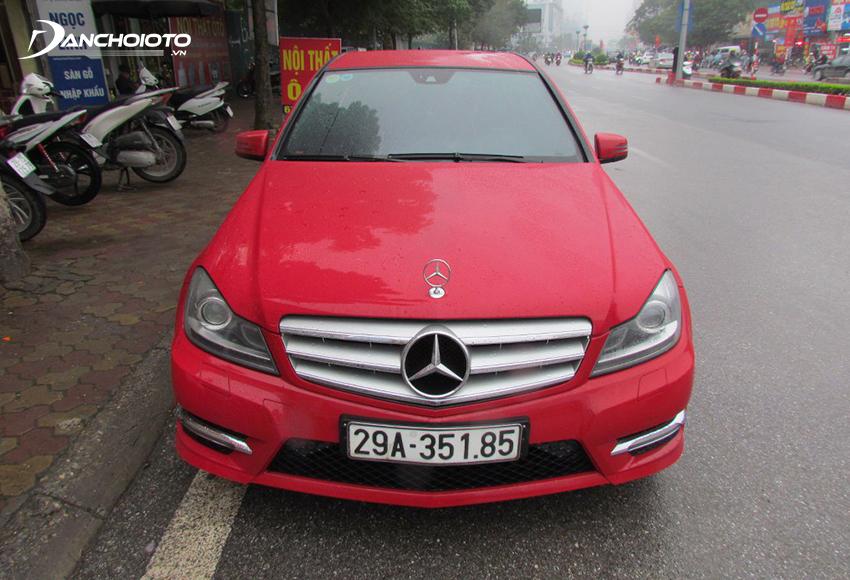 Xe Mercedes C300 2012 cũ