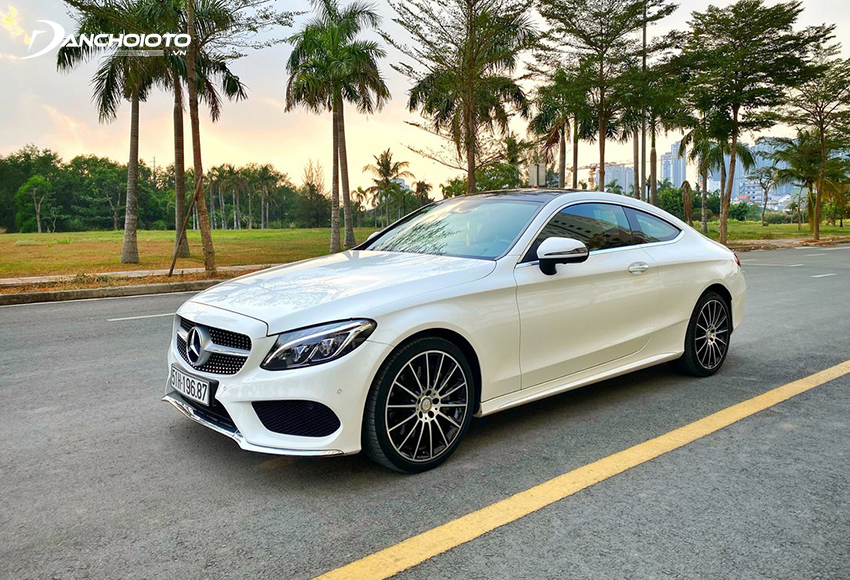 Xe Mercedes C300 Coupe 2016 cũ