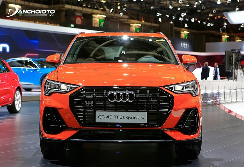 Audi Q3 là một mẫu xe SUV cỡ nhỏ hạng sang 5 chỗ