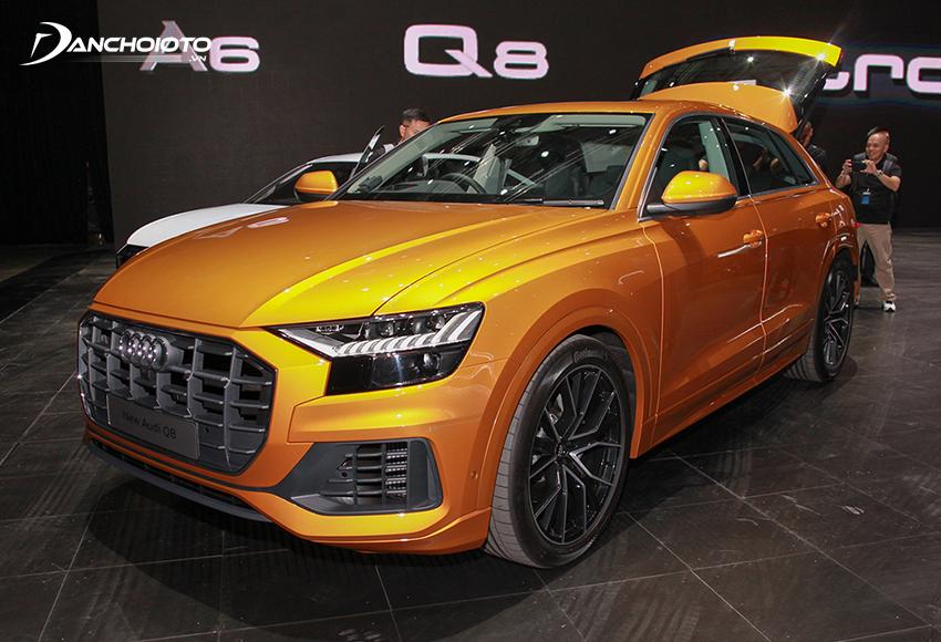 Audi Q8 là một mẫu SUV 7 chỗ cao cấp cỡ lớn