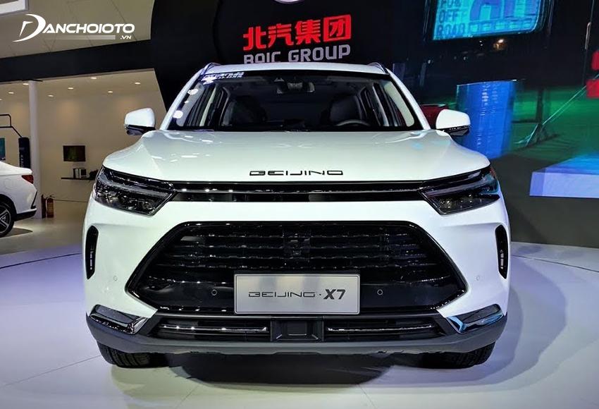 Baic Beijing X7 là một mẫu xe SUV 5 chỗ mới hạng C