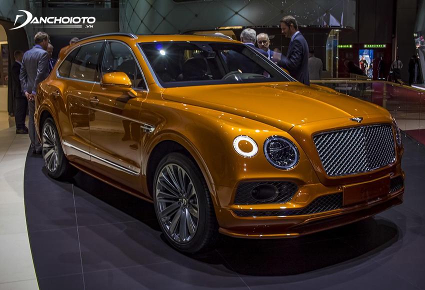 Bentley Bentayga là một mẫu ô tô SUV 5 chỗ siêu sang