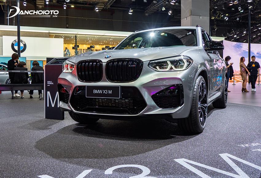BMW X3 cũng là một mẫu SUV sang 5 chỗ cỡ nhỏ
