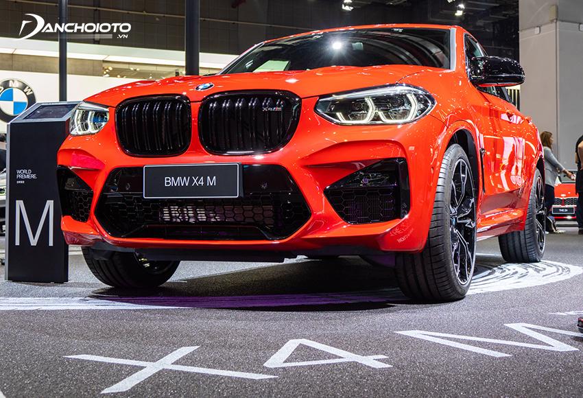 BMW X4 là một mẫu xe SUV 5 chỗ hạng sang cỡ nhỏ