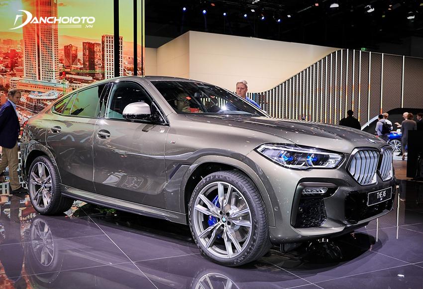 BMW X6 là một mẫu SUV 5 chỗ hạng sang cỡ trung