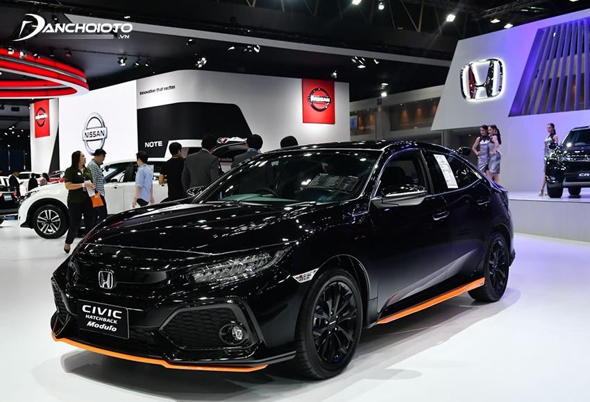 Các dòng xe ô tô Honda được đánh giá cao về chất lượng