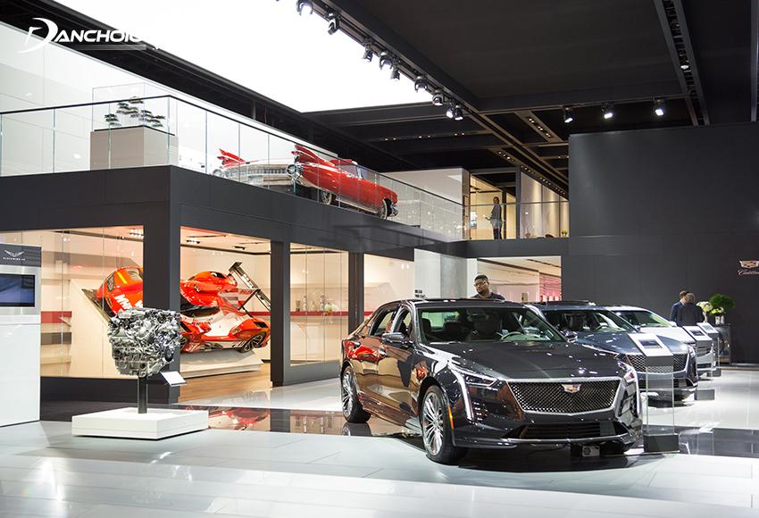 Cadillac là một thương hiệu xe hạng sang hàng đầu tại Mỹ