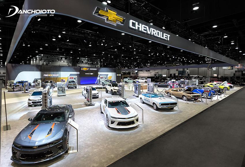 Chevrolet là là công ty con có lượng xe bán chạy nhất của General Motors