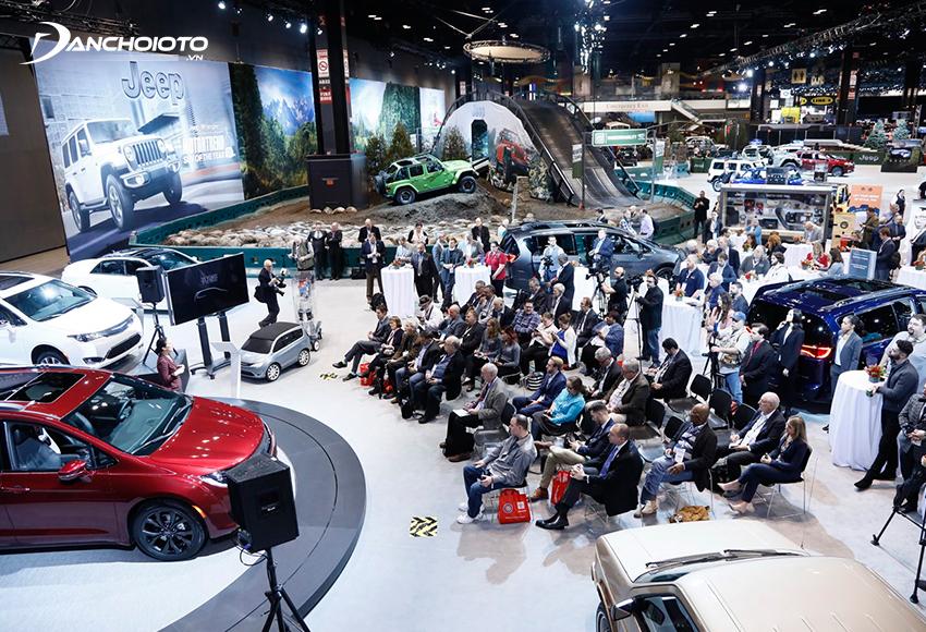 Chrysler (Stellantis) là nhà sản xuất ô tô lớn thứ 3 tại Mỹ