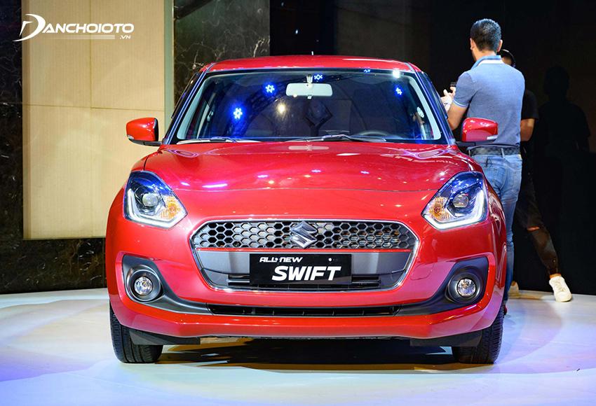 Đầu xe Suzuki Swift 2021 thu hút với phong cách rất châu Âu