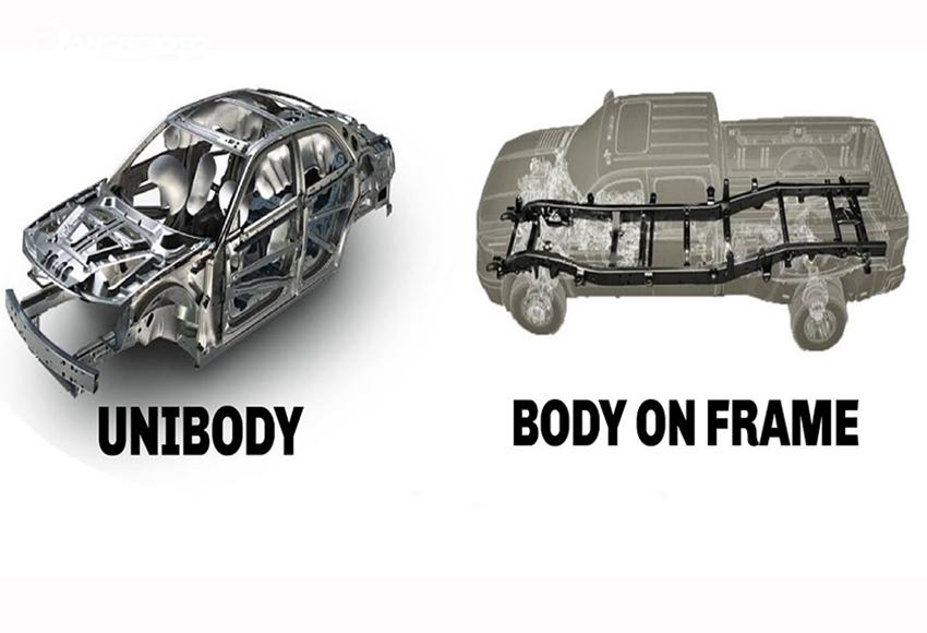 Điểm cơ bản phân biệt SUV và CUV là kết cấu thân xe
