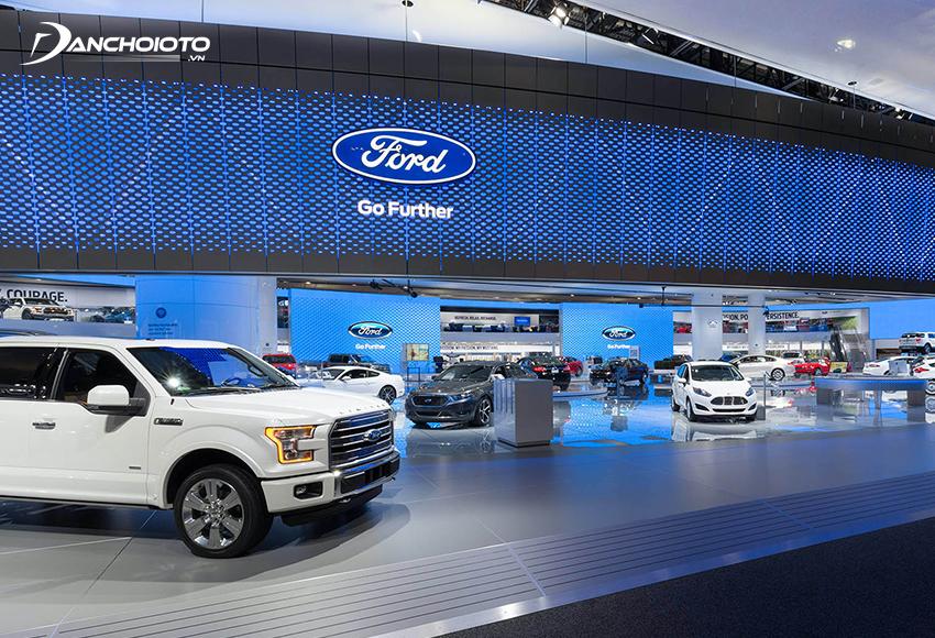 Ford Motor là nhà sản xuất ô tô đa quốc gia lớn thứ 2 tại Mỹ, nằm trong top 5 thế giới