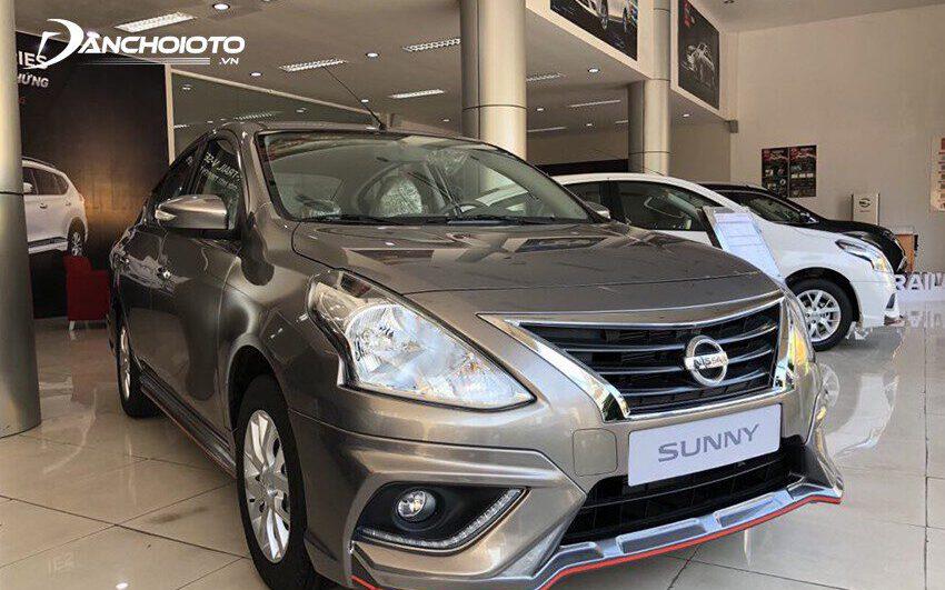 Giá Nissan Sunny từ 448 - 518 triệu đồng