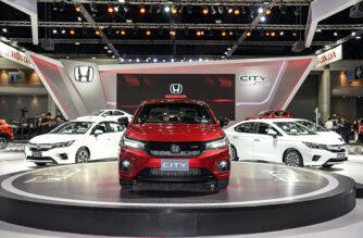 Bảng giá xe ô tô Honda
