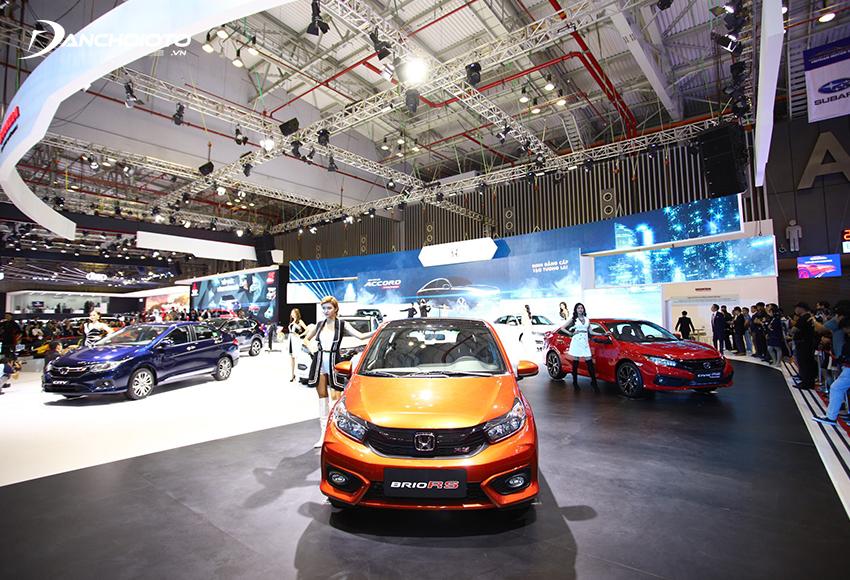 Giá xe Honda 4 chỗ Brio từ 418 – 448 triệu đồng