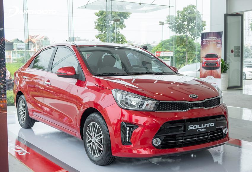 Giá xe Kia 5 chỗ Soluto giá từ 399 – 499 triệu đồng