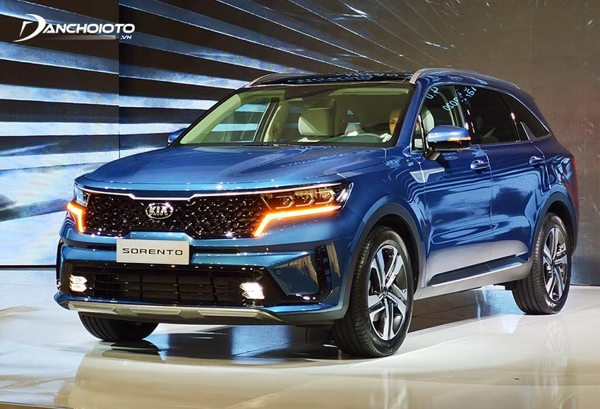 Giá xe Kia 7 chỗ Sorento từ 1,079 – 1,349 tỷ đồng