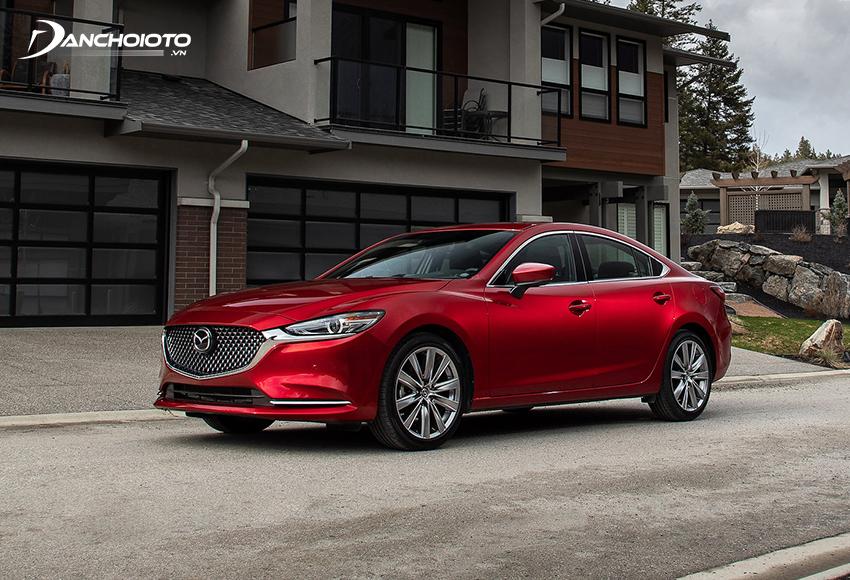 Giá xe Mazda 5 chỗ hạng D – Mazda 6 từ 889 triệu – 1,049 tỷ đồng