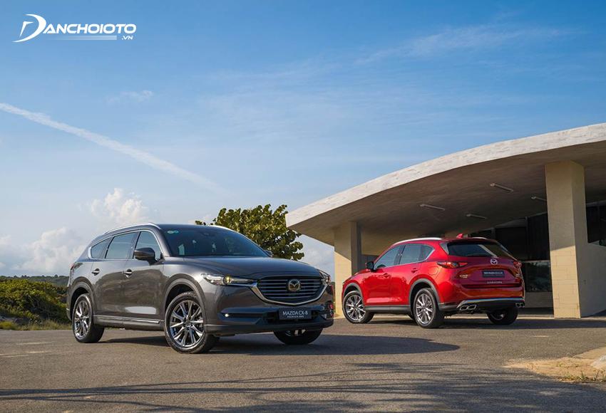 Giá xe Mazda 7 chỗ - Mazda CX-8 từ 999 triệu - 1,249 tỷ đồng