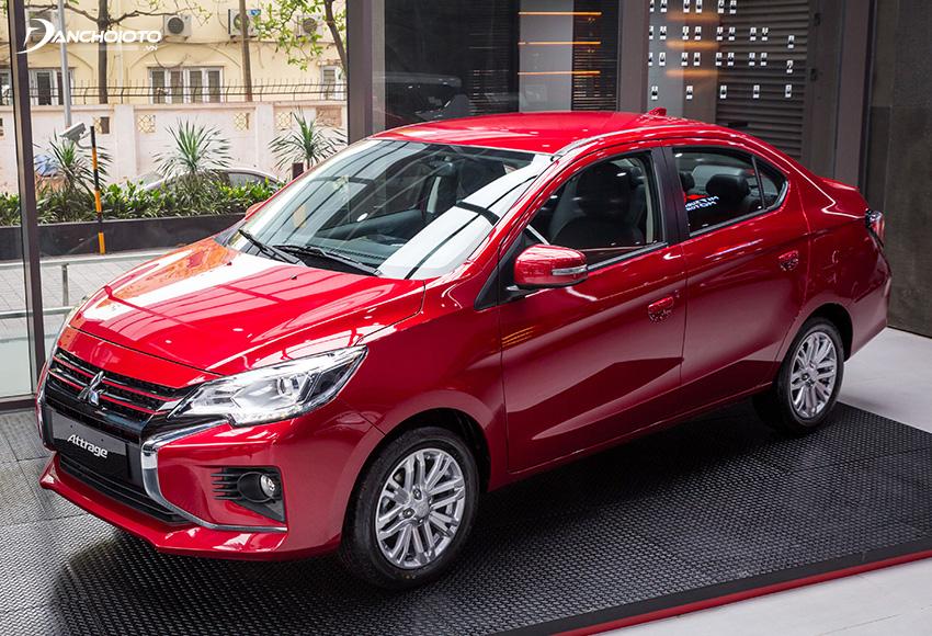 Giá xe Mitsubishi Attrage từ 375 – 460 triệu đồng