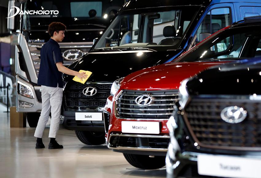 Giá xe ô tô Hyundai có tính cạnh tranh rất cao