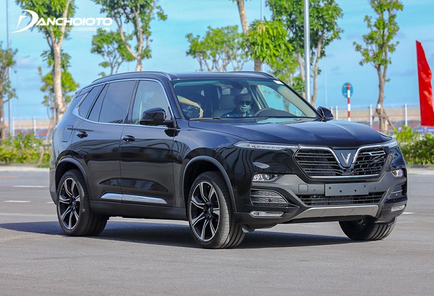Giá xe SUV 7 chỗ VinFast Lux SA2.0 từ 1,290 - 1,528 tỷ đồng