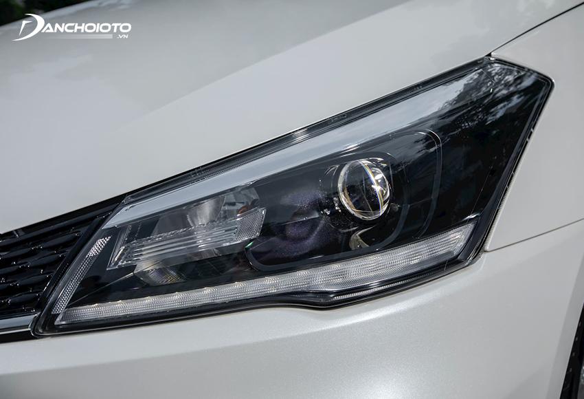 Hệ thống đèn này của Ciaz 2021 được đánh giá cao khi trang bị công nghệ full LED