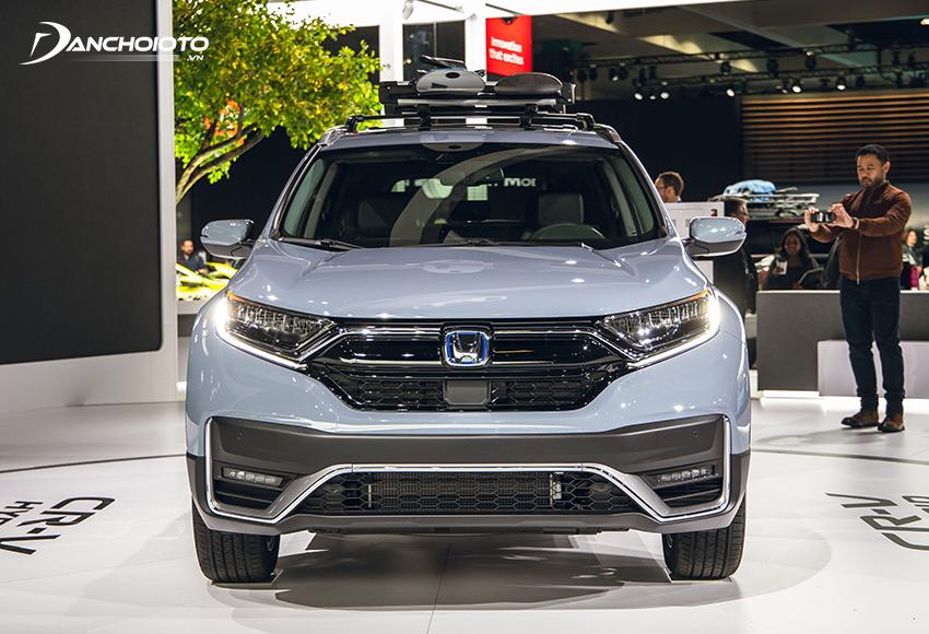 Honda CR-V là một mẫu xe 7 chỗ SUV hạng C