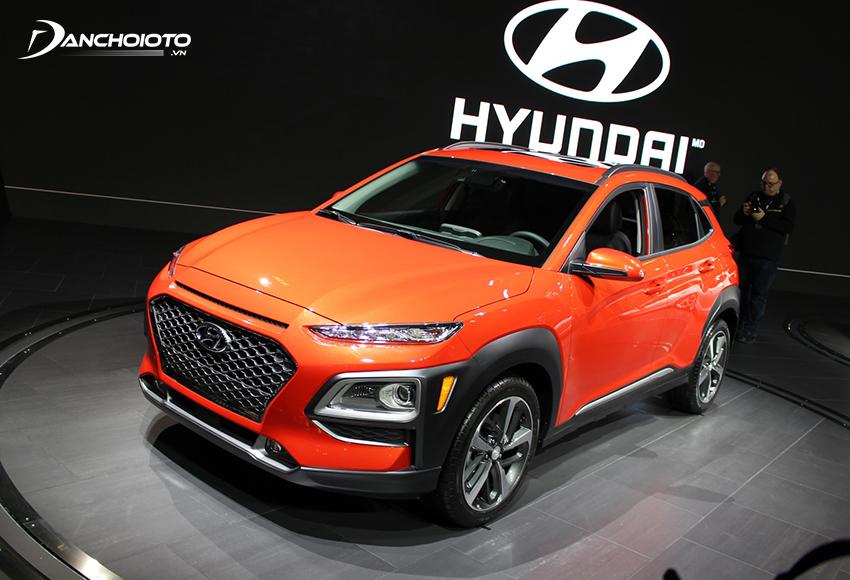 Hyundai Kona là một mẫu xe SUV hạng B giá rẻ