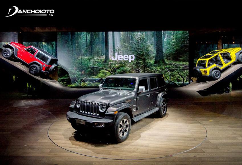 Jeep là thương hiệu xe thể thao đa dụng nổi tiếng toàn cầu