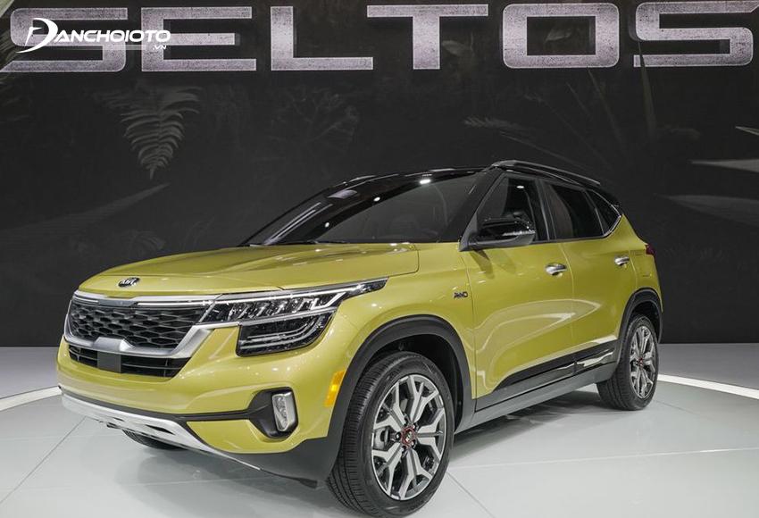 Kia Seltos là một mẫu xe CUV hạng B giá rẻ