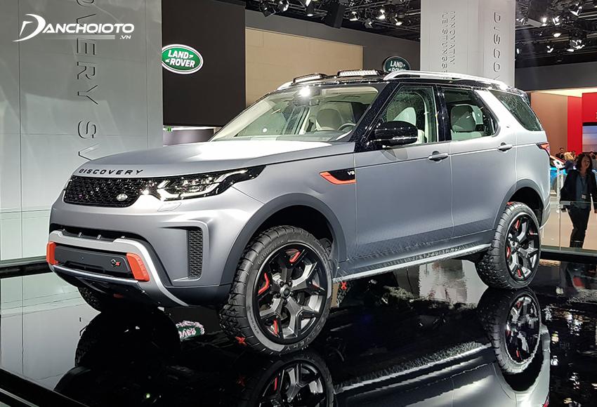 Land Rover Discovery là một trong những mẫu xe top SUV hạng sang bán chạy của Land Rover