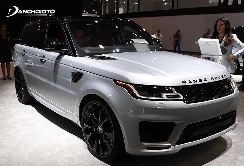 Land Rover Range Rover Sport là một mẫu xe oto SUV 7 chỗ hạng sang cỡ trung
