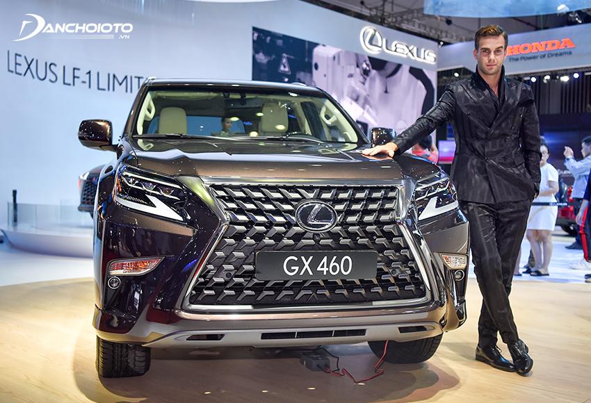 Lexus GX là mẫu xe SUV cỡ lớn hạng sang