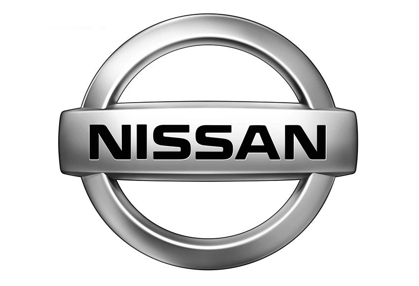 Logo Nissan sử dụng các gam màu kim loại