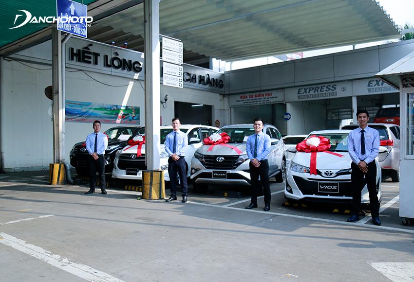Mạng lưới đại lý của các hãng xe Nhật hiện phát triển mạnh hơn nhiều hãng khác