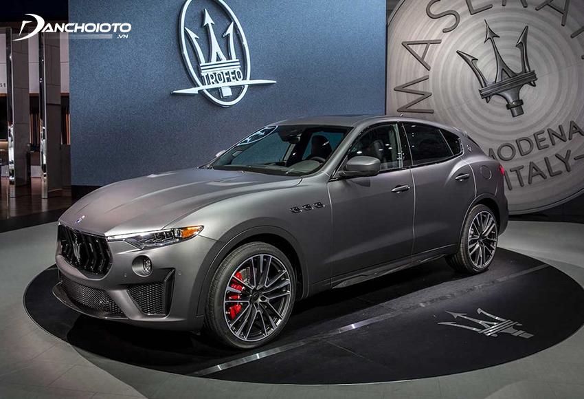 Maserati Levante là một mẫu SUV 5 chỗ hiệu suất cao