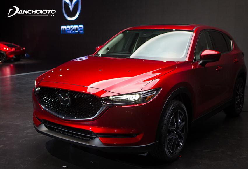 Mazda CX-5 là một mẫu xe 5 chỗ SUV cỡ trung hạng C