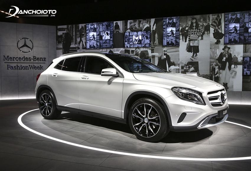 Mercedes-Benz GLA là một mẫu xe SUV 5 chỗ cỡ nhỏ hạng sang