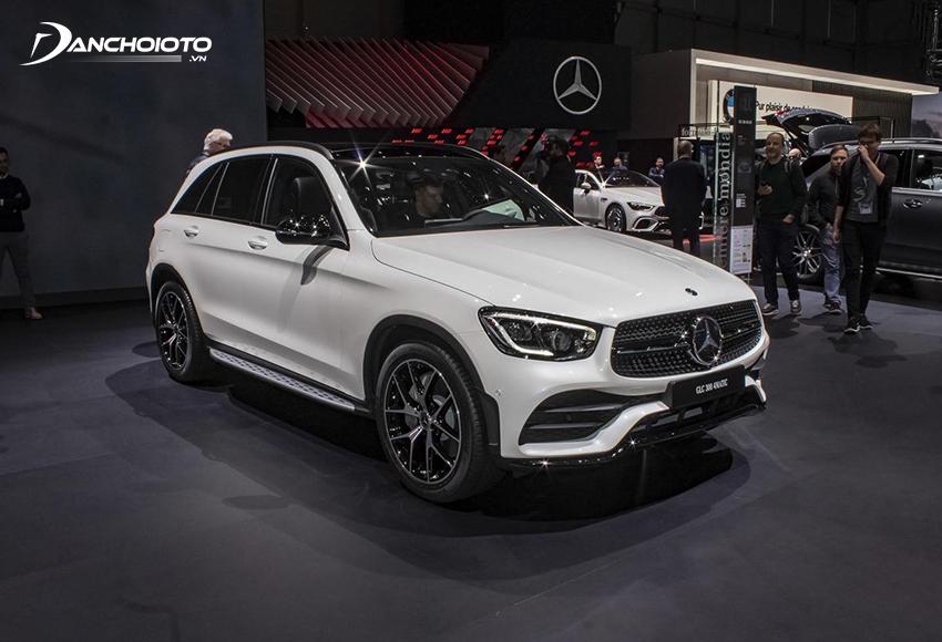 Mercedes GLC là một mẫu SUV hạng sang cỡ trung