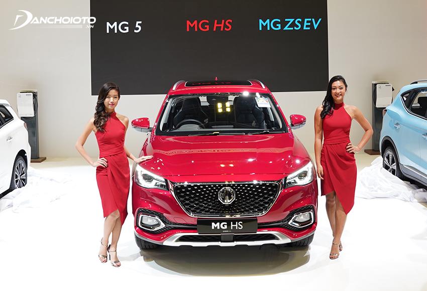 MG HS là một mẫu SUV 5 chỗ gầm cao cỡ trung hạng C