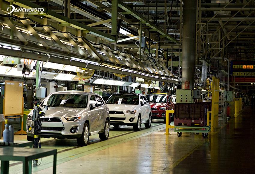 Mitsubishi là nhà sản xuất ô tô lớn thứ sáu của Nhật Bản