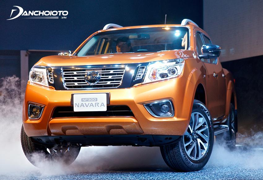 Nissan Navara nổi bật với hệ thống khung gầm cứng cáp
