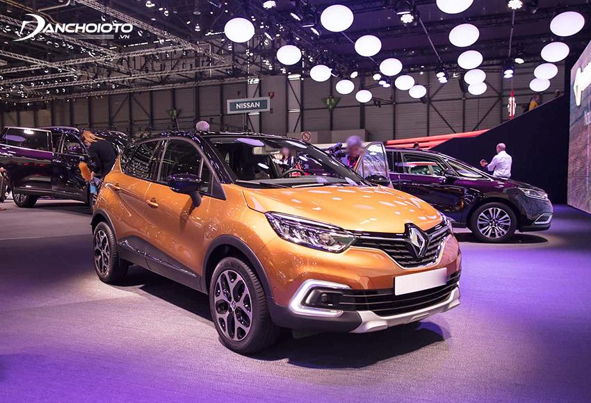 Renault Kaptur là một mẫu SUV cỡ nhỏ 5 chỗ