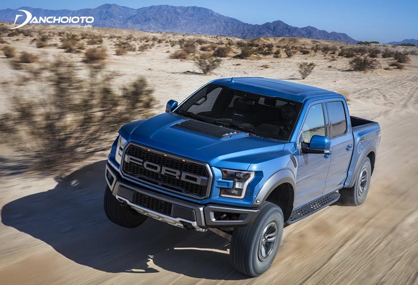 Sở trường của xe ô tô Mỹ là dòng xe gầm cao SUV lẫn crossover và xe bán tải