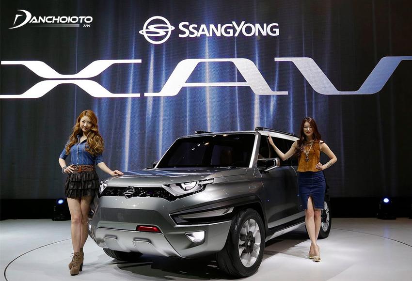 Ssangyong là nhà sản xuất ô tô lớn thứ 4 tại Hàn Quốc